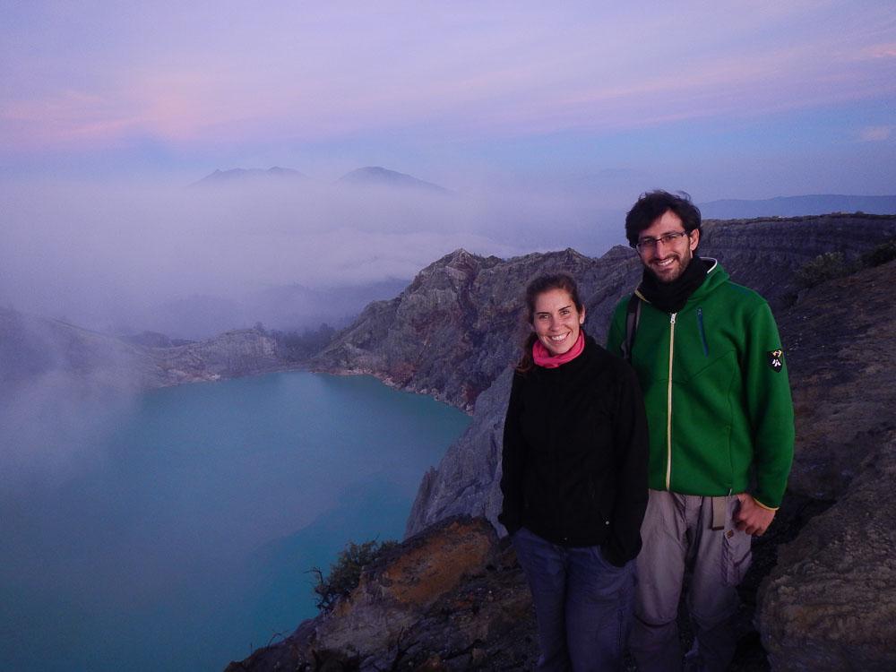 Subida al Volcan Kawah Ijen