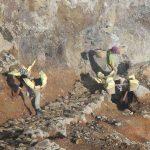 Mineros del Kawah Ijen