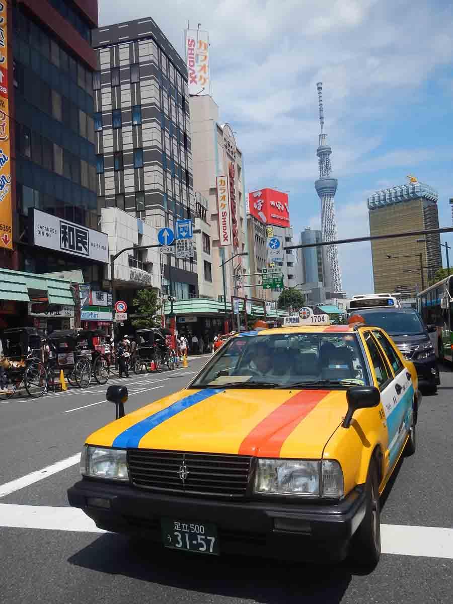 Mirador en Tokio