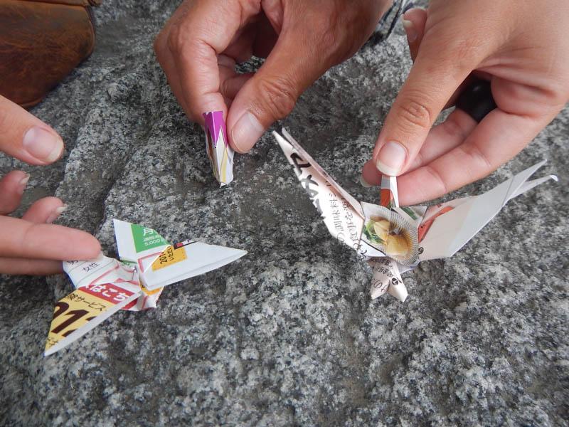 origamis en Osaka