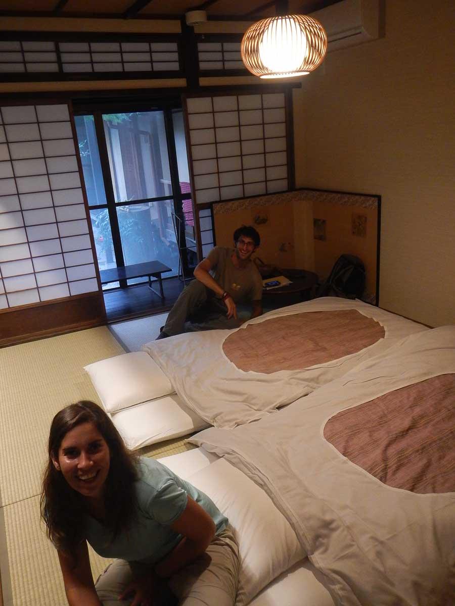 Dormir en Japón