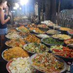 Mercado nocturno en Tailandia