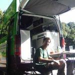 Comer en la autocaravana