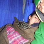 Dormir durante los viajes