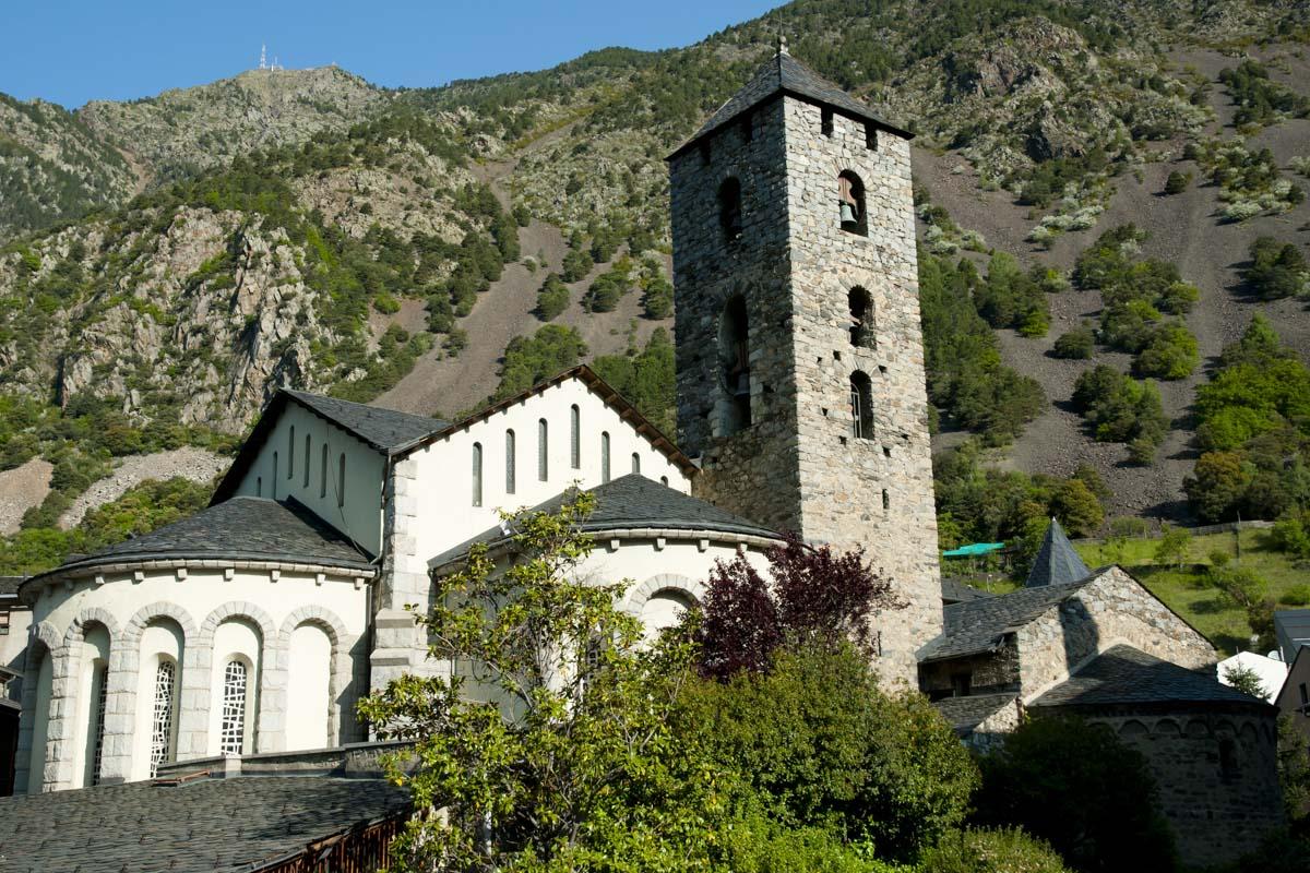Iglesia de Sant Esteve en Andorra