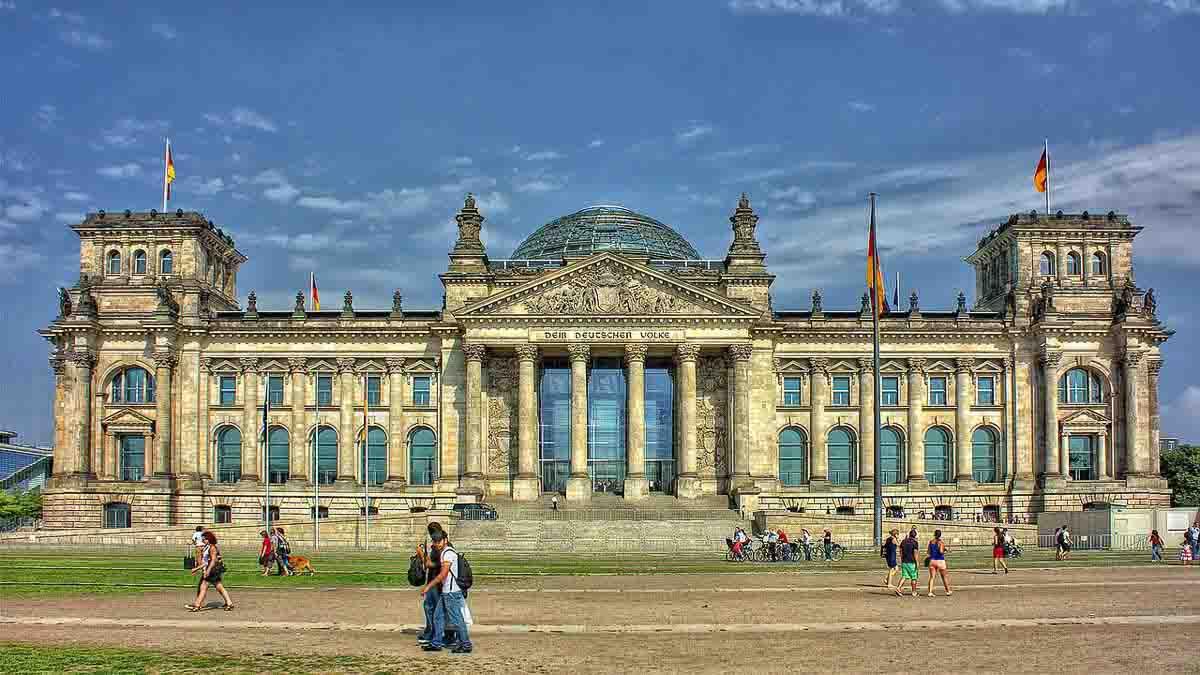 Parlamento Aleman de Berlin