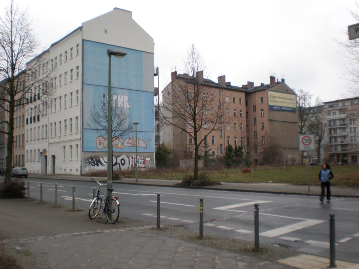 Barrio en Berlin