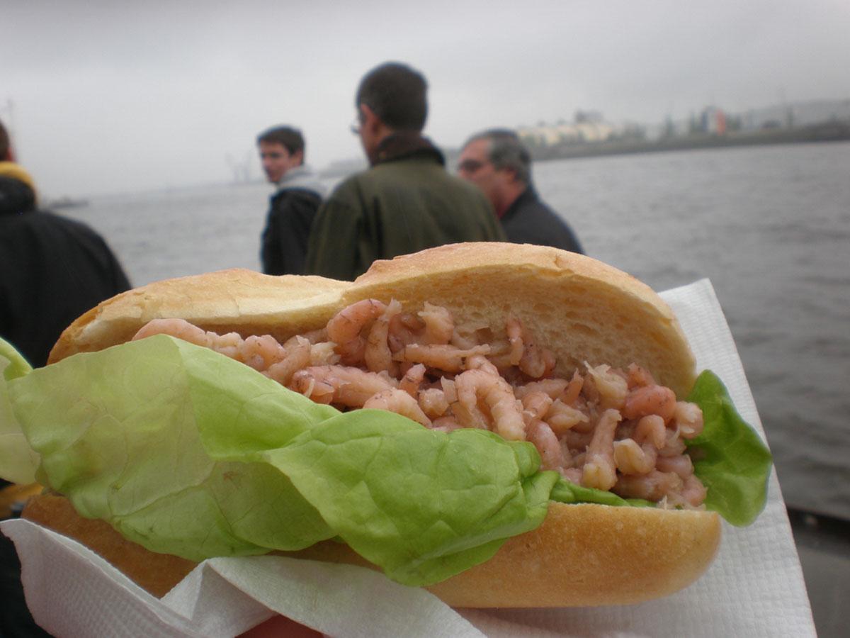 Sandwich en Hamburgo