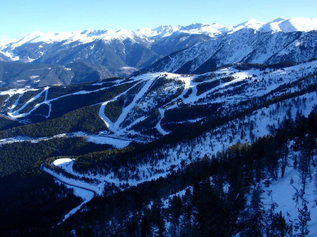 Paisajes en Andorra