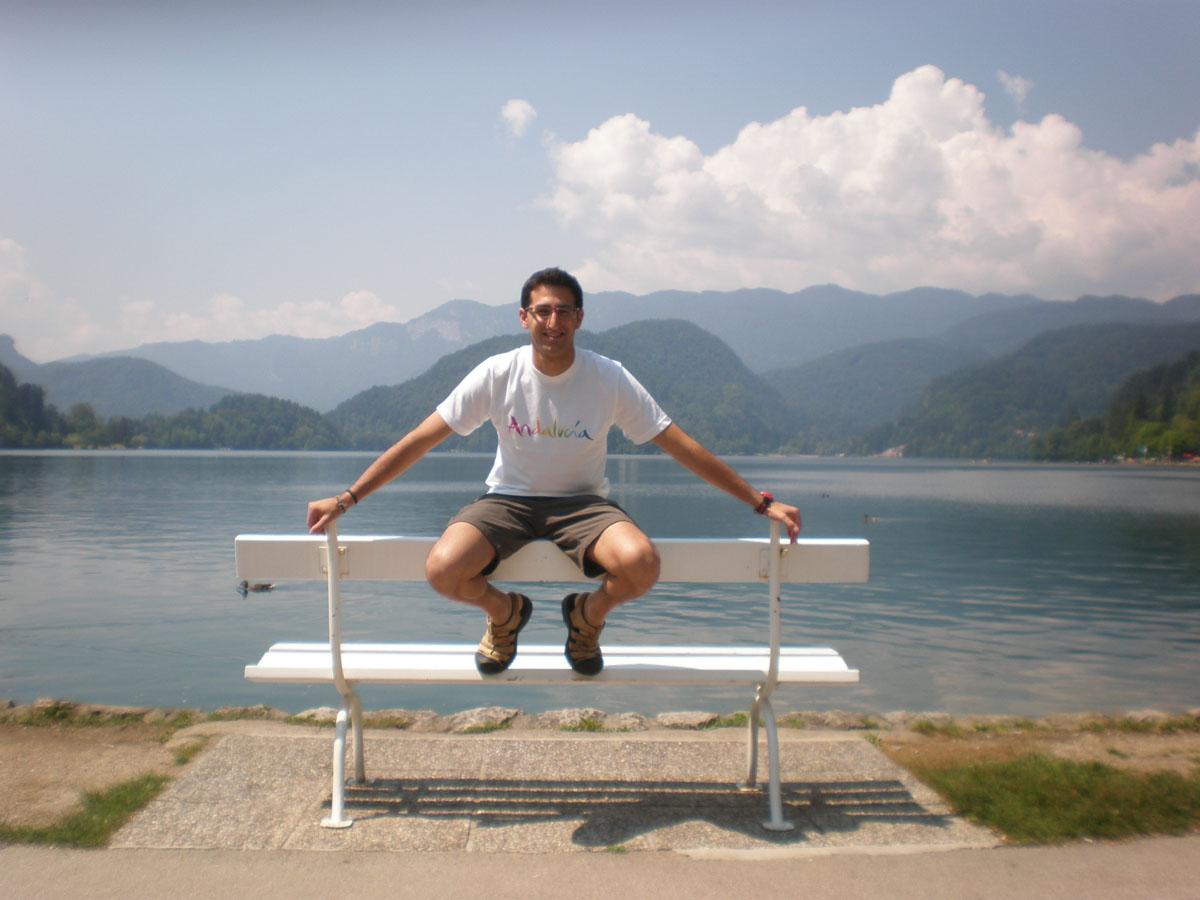 JP en el Lago Bled