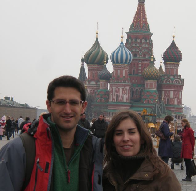 Plaza Roja en Moscu