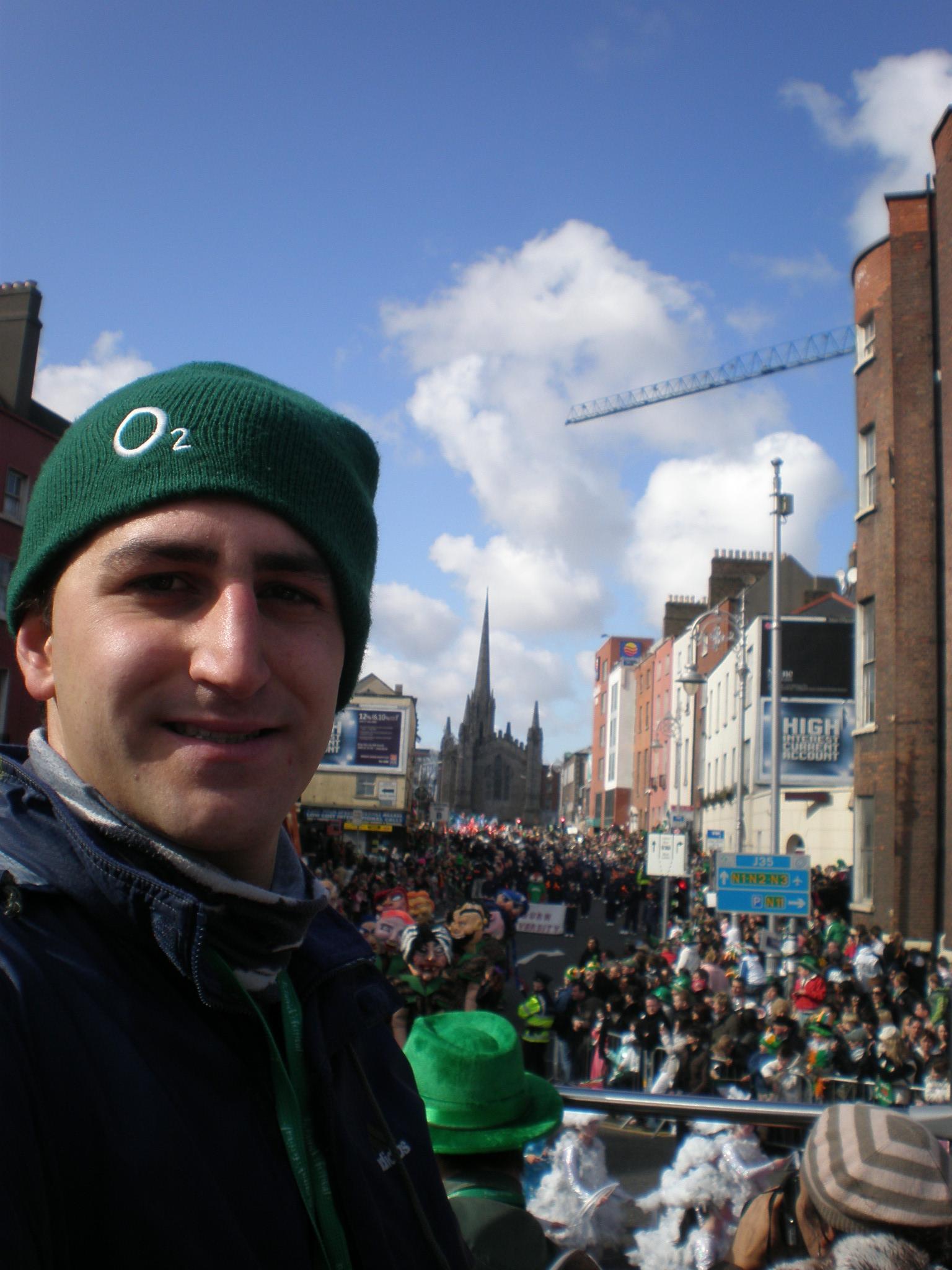 JP en el St. Patrick's Festival
