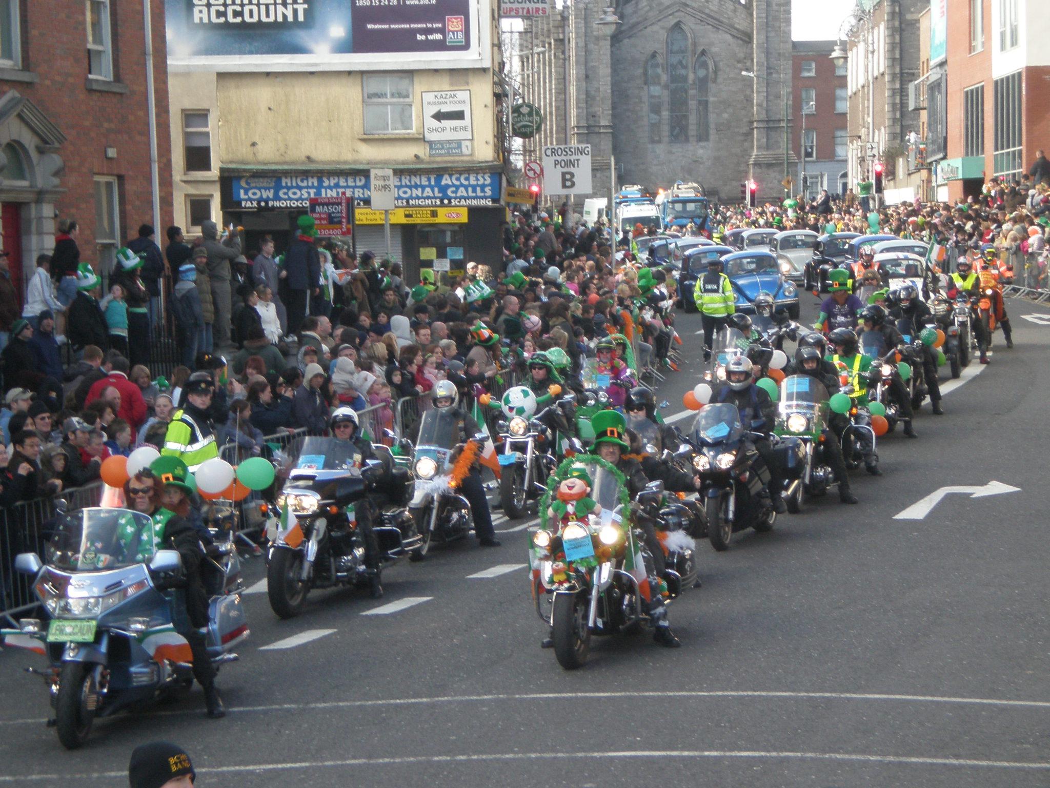 De celebracion en el St. Patrick's Festival
