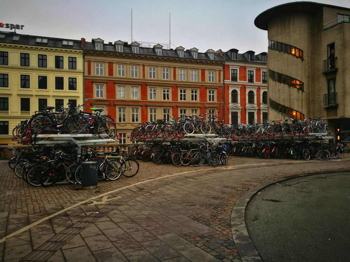 Bicicletas en Copenhague
