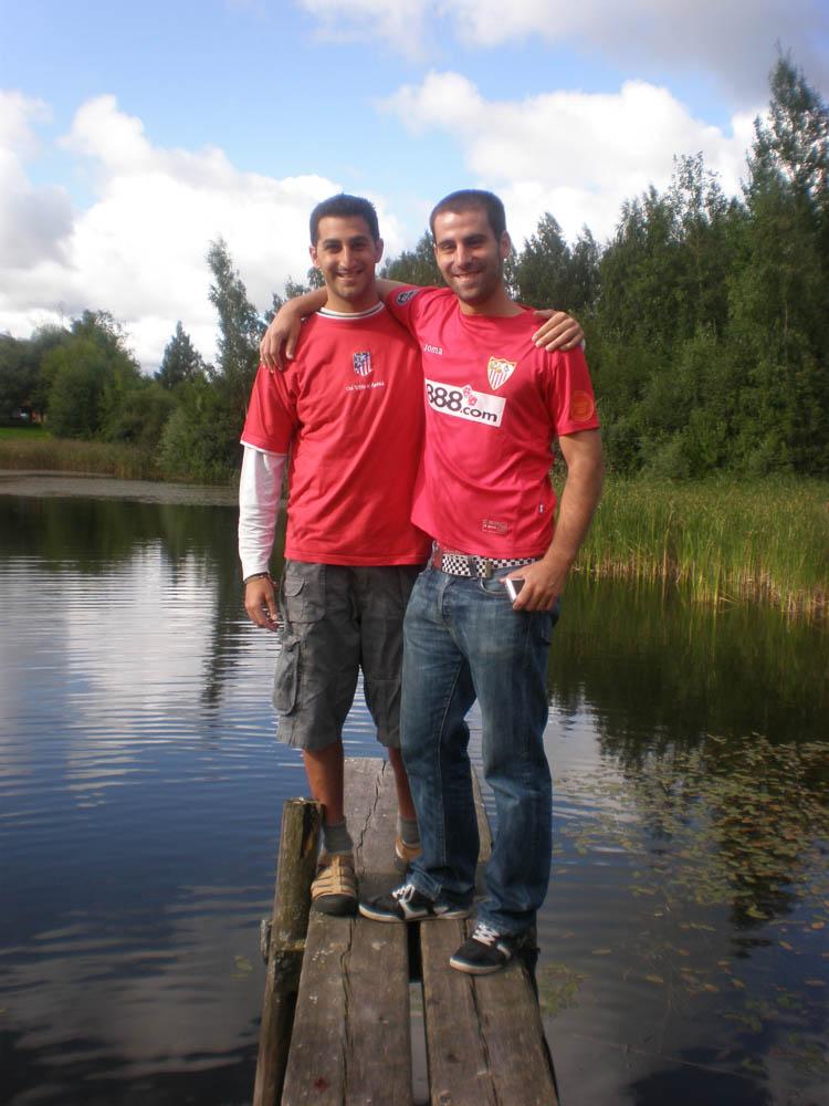 JP y Carlos por los paises Balticos