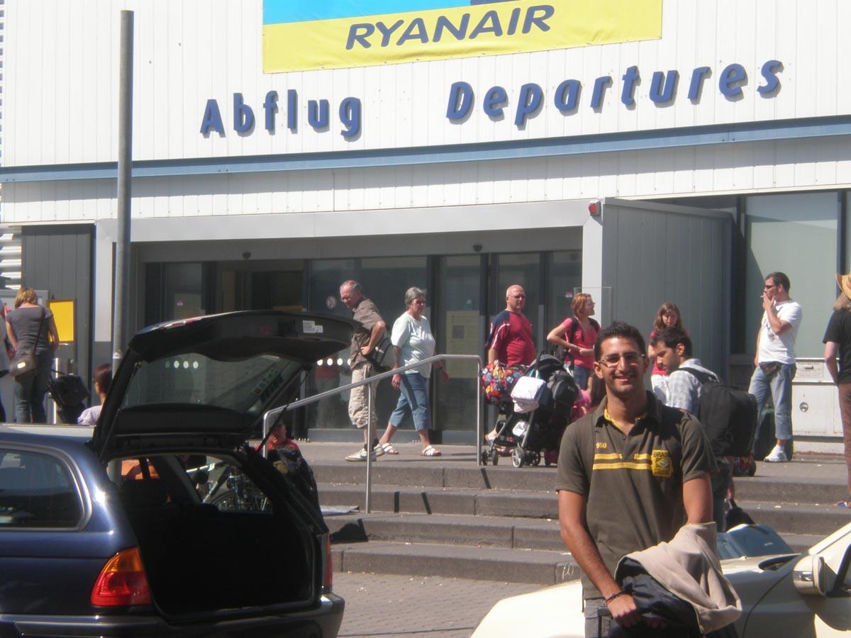 Aeropuerto de regreso