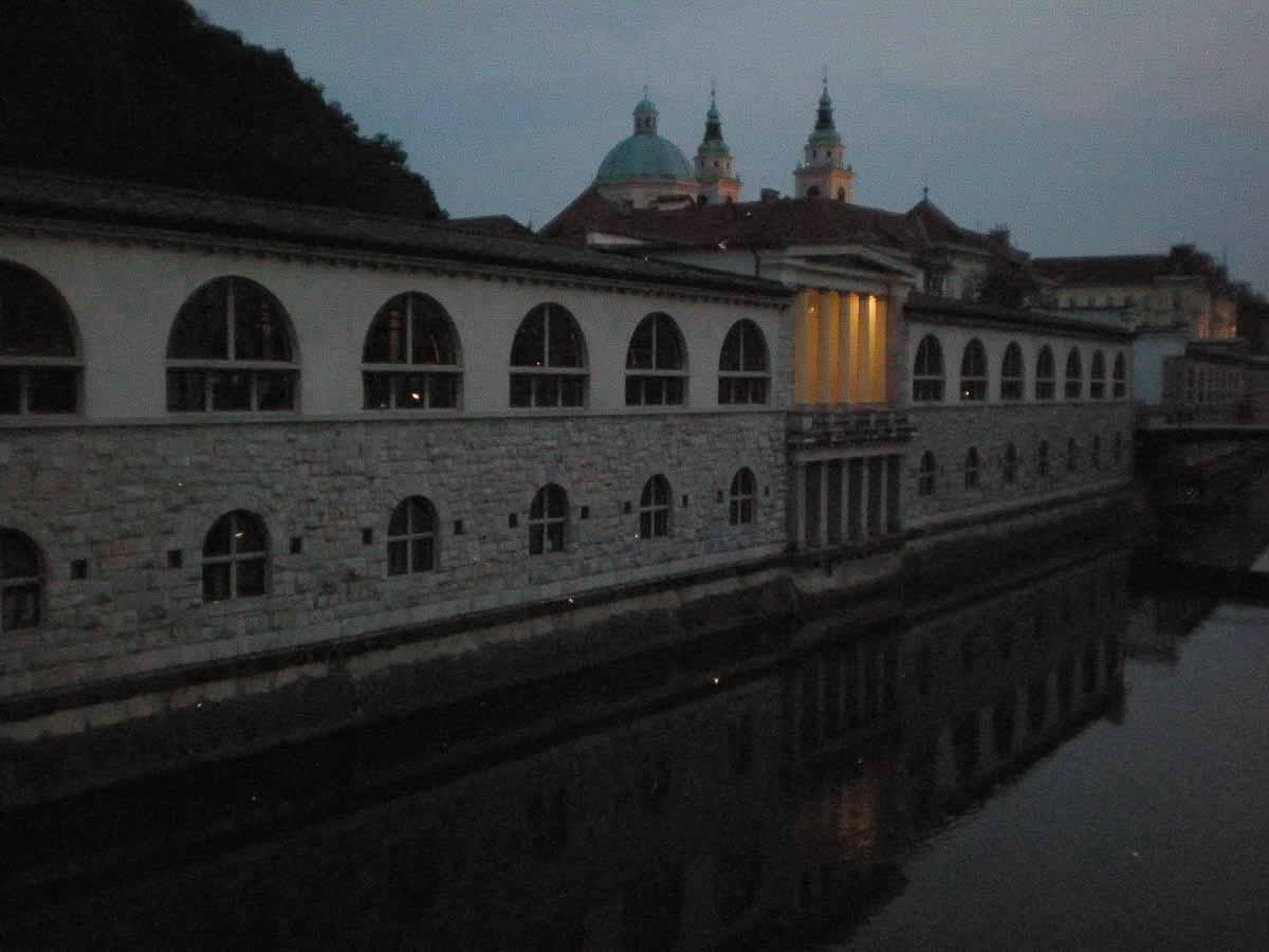 Noche en Eslovenia