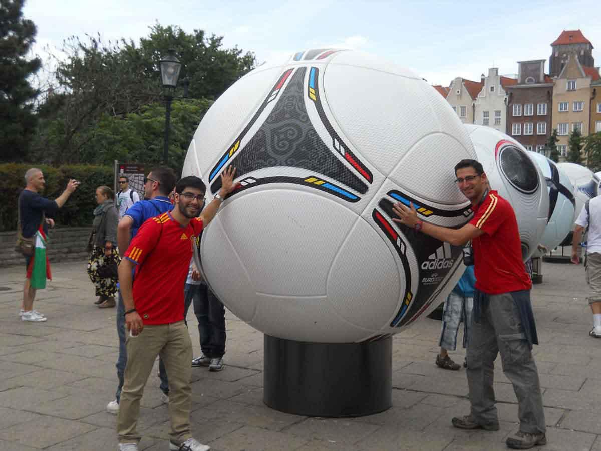 Futbol en Gdansk