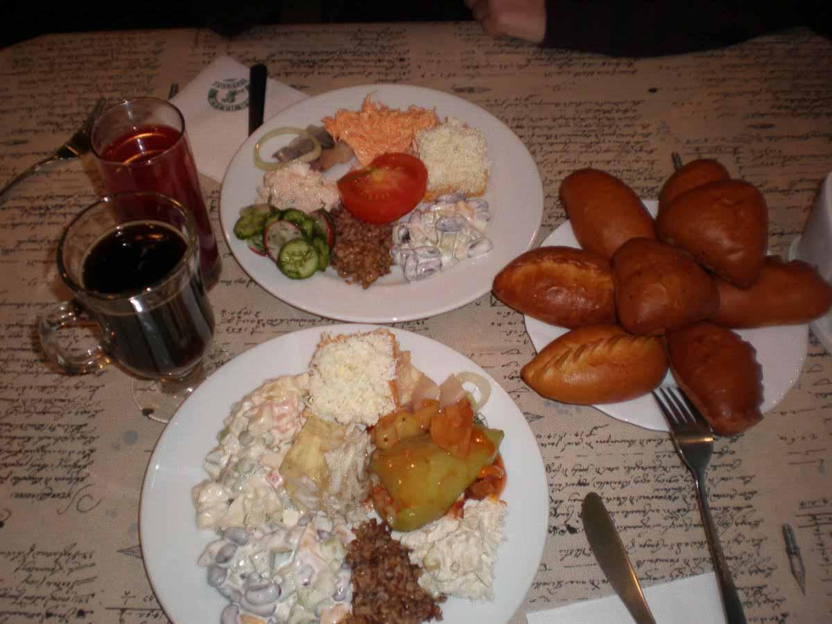 Comer en Rusia