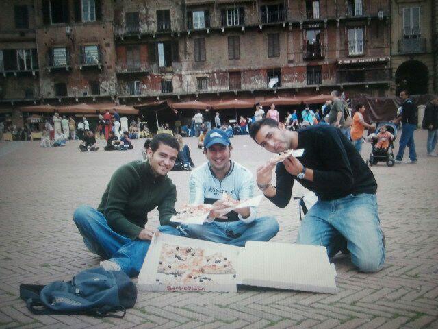 Siena con amigos
