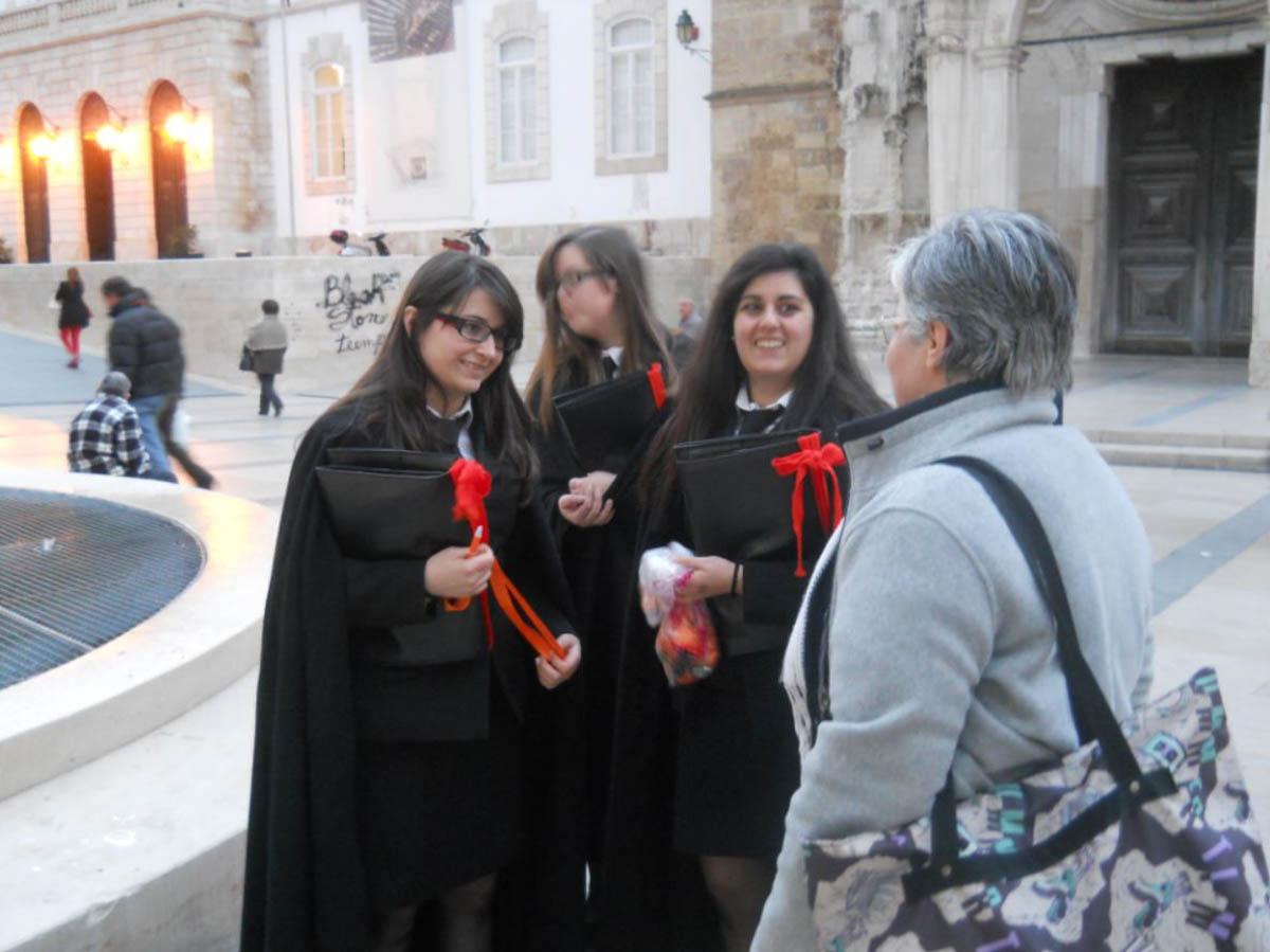 Universitarias en Coimbra