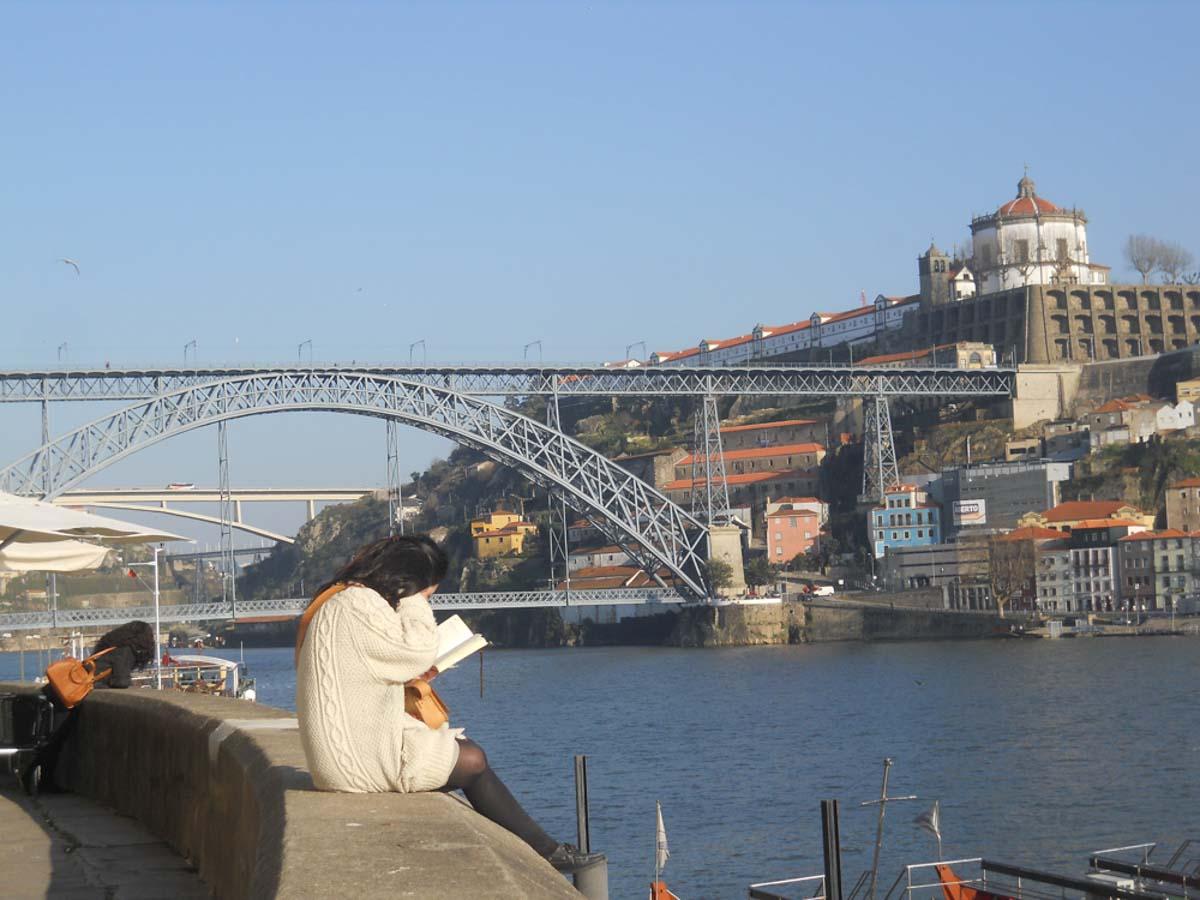Uno de los puentes de Oporto