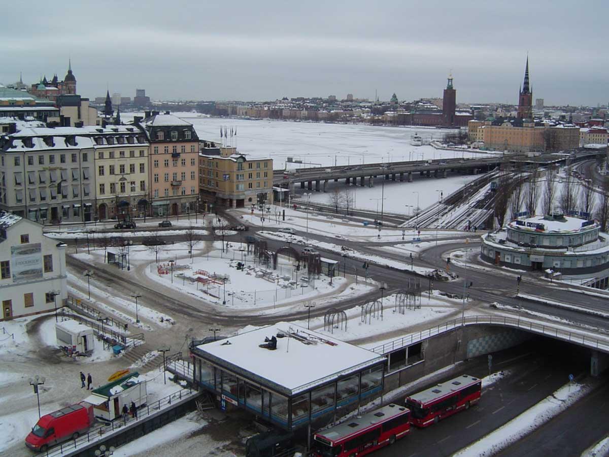 Panoramica Estocolmo