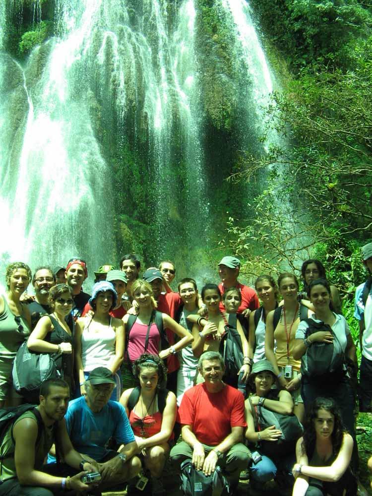 Algunos expedicionarios Tahina Can Cuba