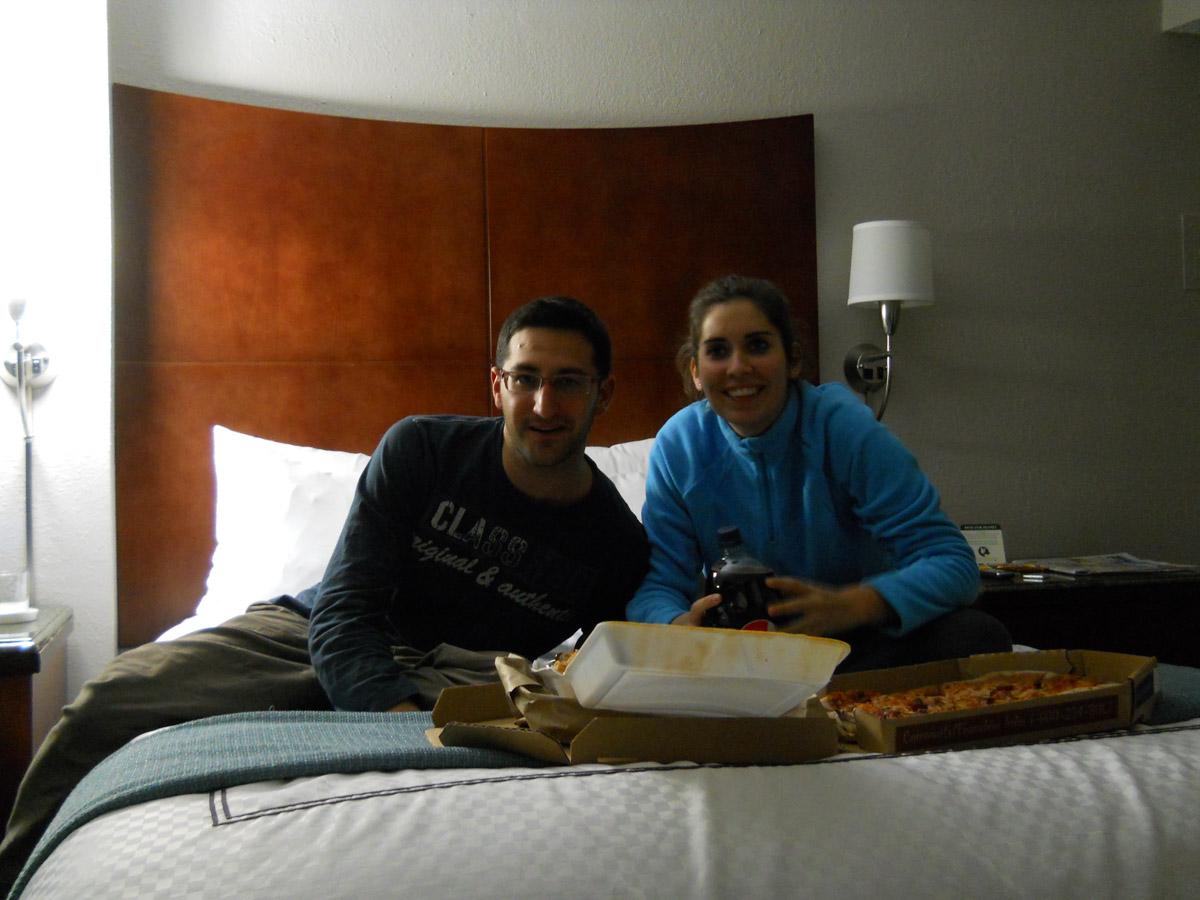 Nuestra habitacion en Washington