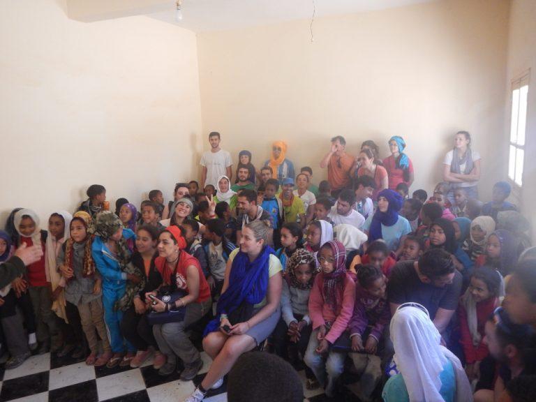 Escuela en Mhamid