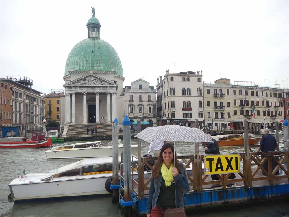 Taxis en Venecia