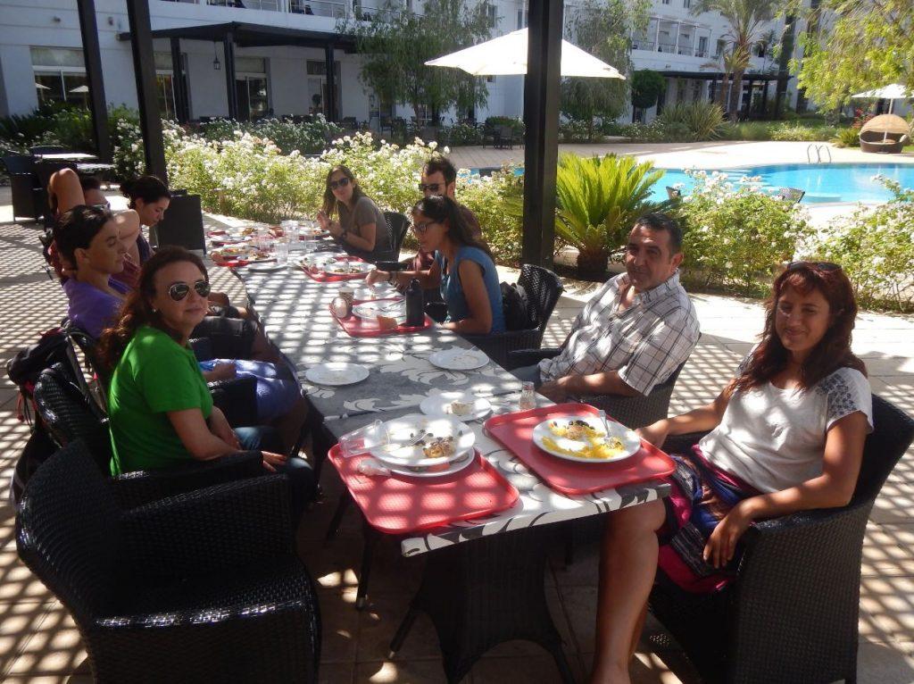 comida en Casablanca