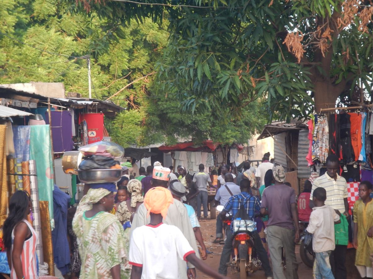 pueblo de Kédougou, Senegal