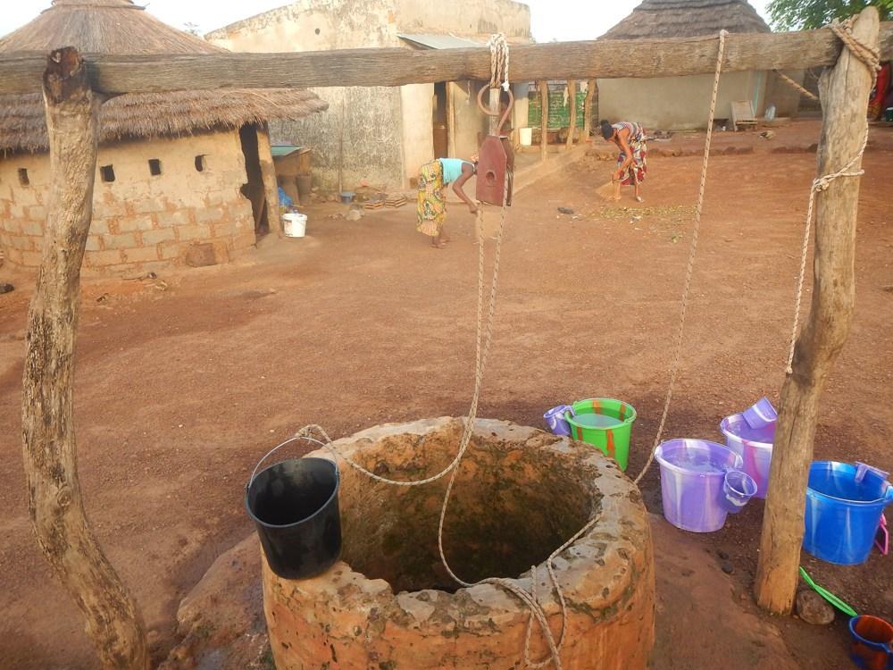 pozo en Kédougou, Senegal