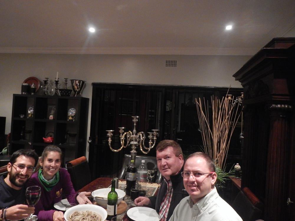 cena en Johannesburgo