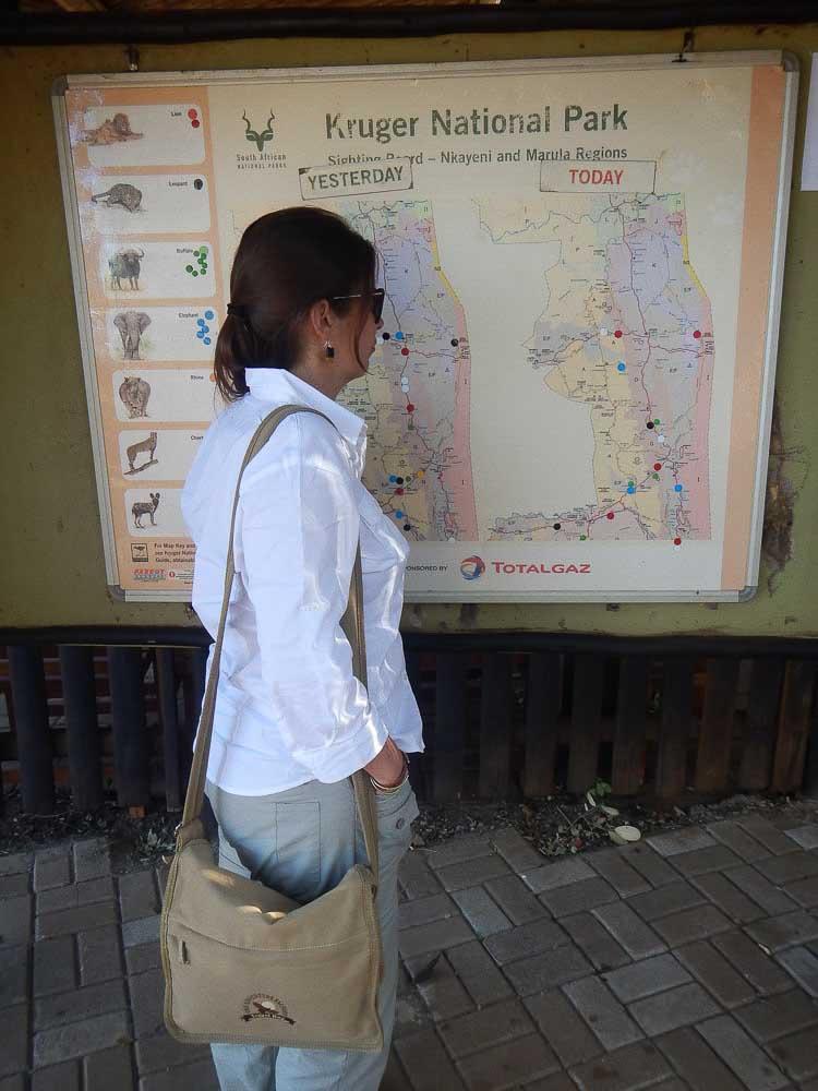 Mapa Kruger
