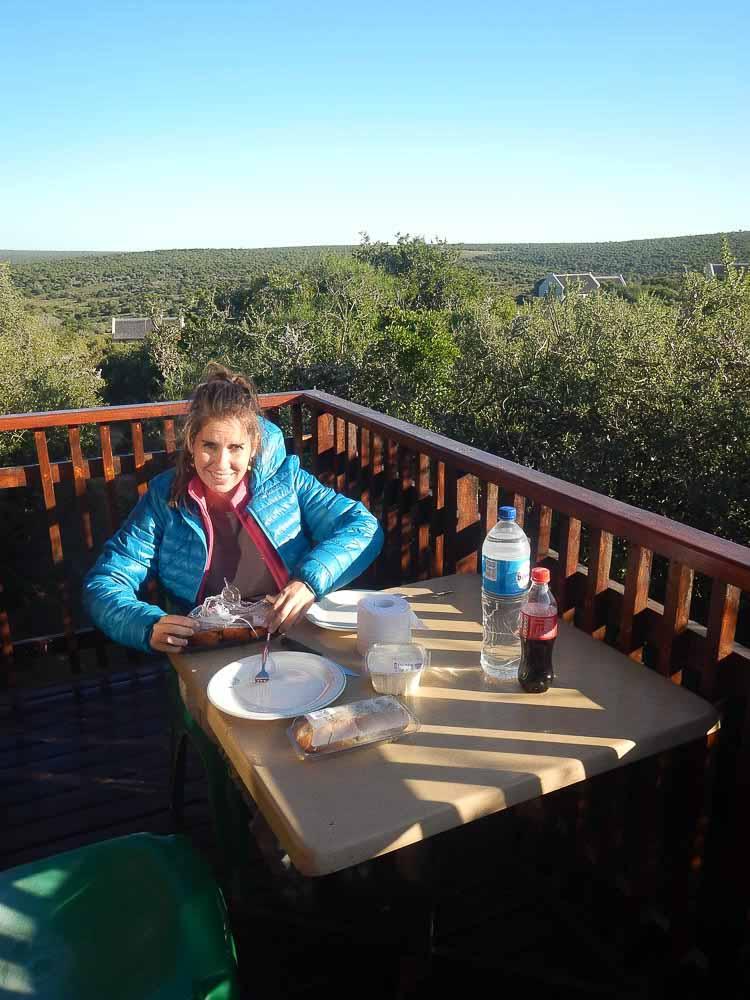 Dormir en el Kruger