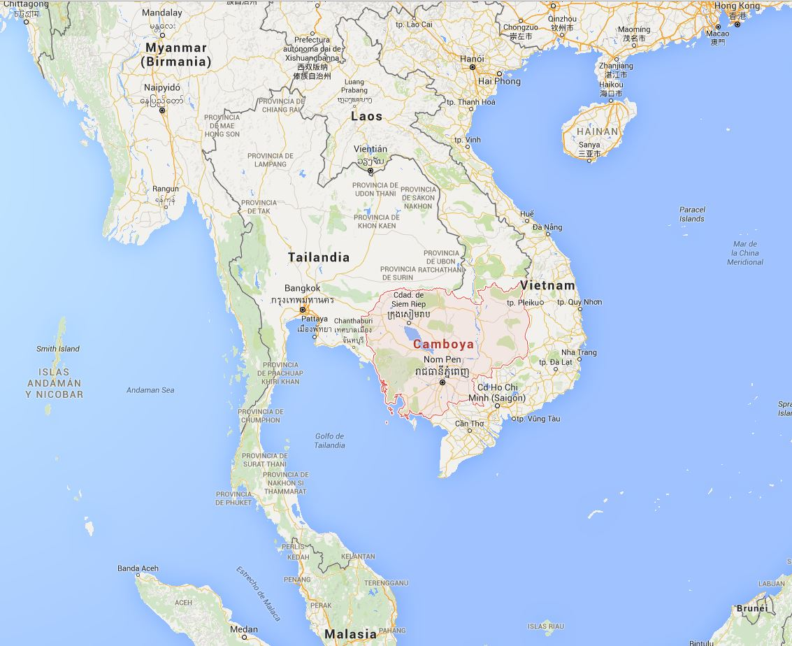 Información Camboya