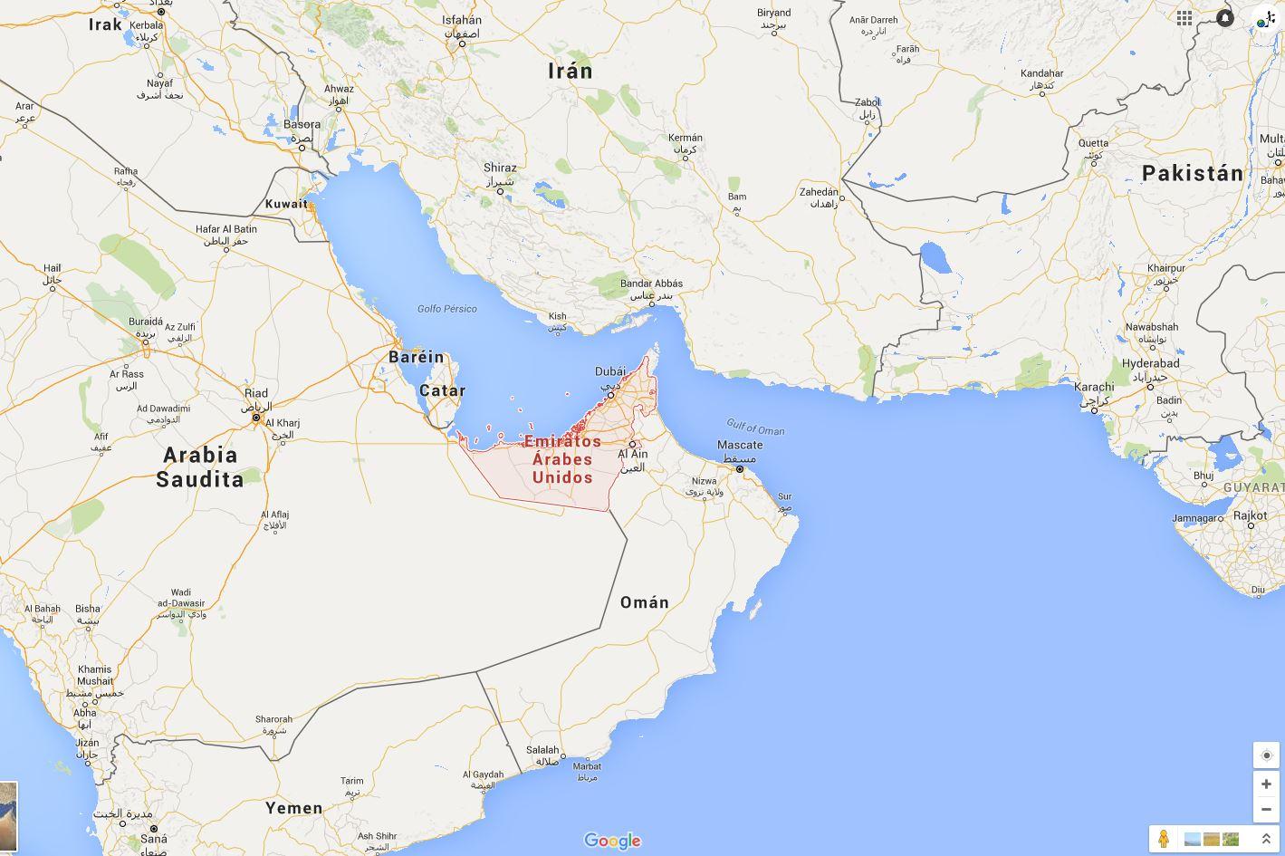 Información Emiratos Árabes Unidos