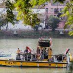 Los Reyes Magos en barco