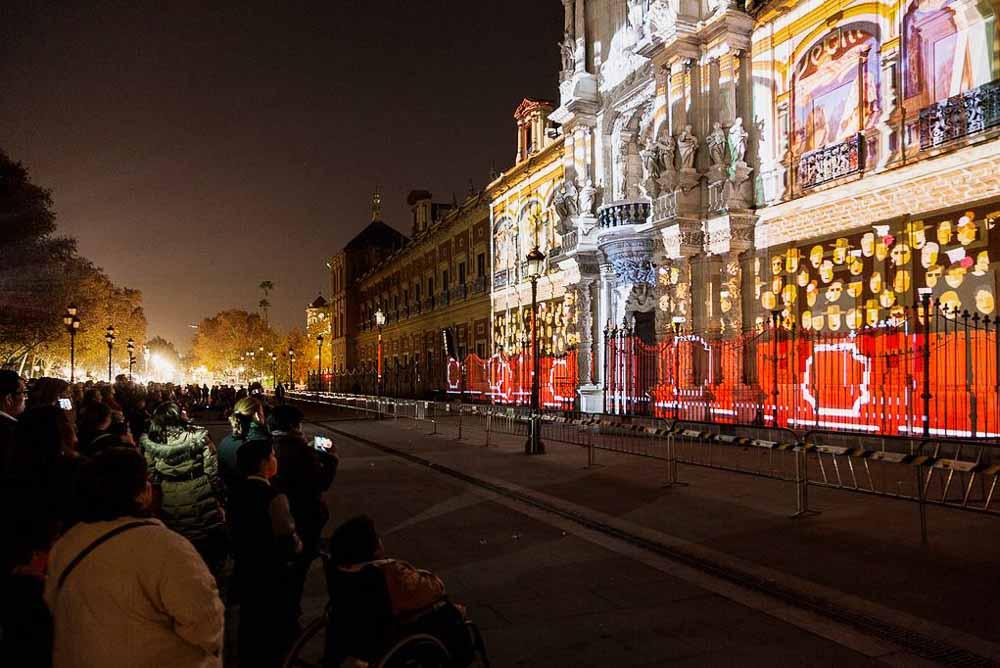 Sevilla en Navidad