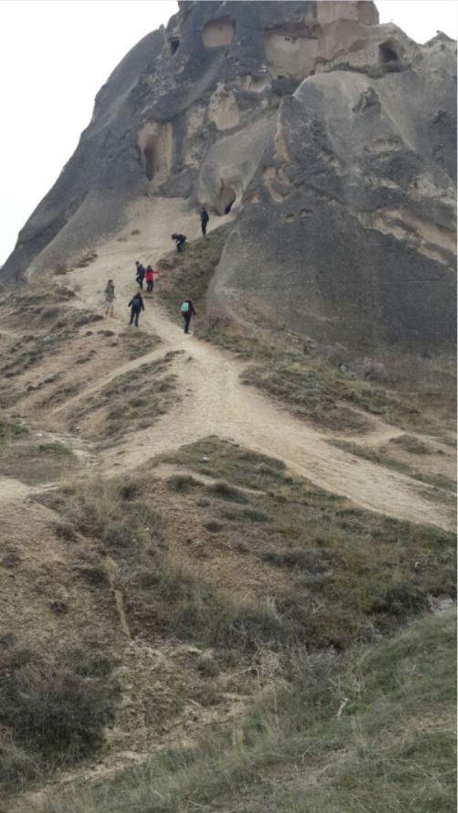 trekking en la Capadocia