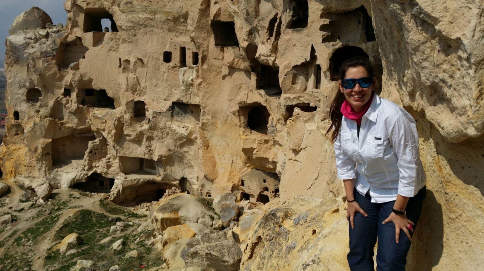 MJ en la Capadocia