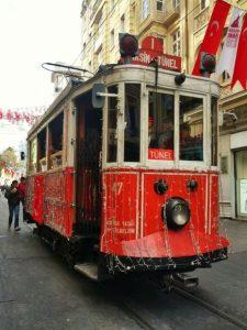 tranvía en Estambul