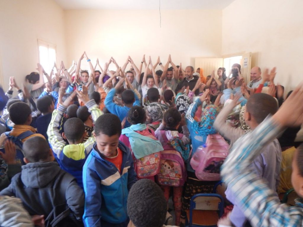 escuela en Marrakech