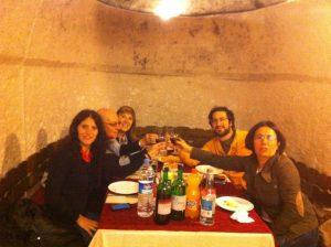 Amigos en Turquia