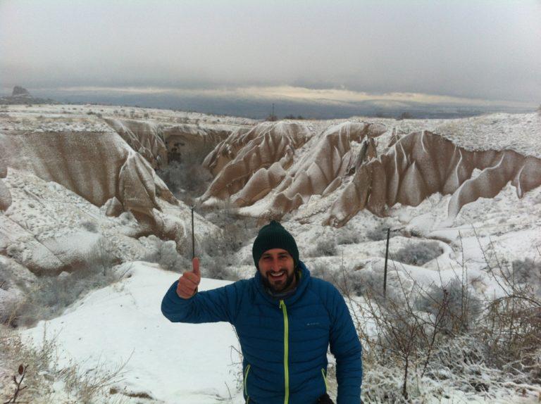 Capadocia nevada