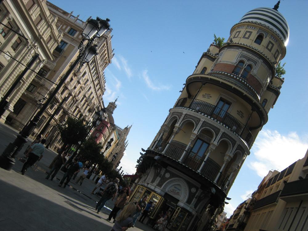 Avenida de la Constitucion de Sevilla