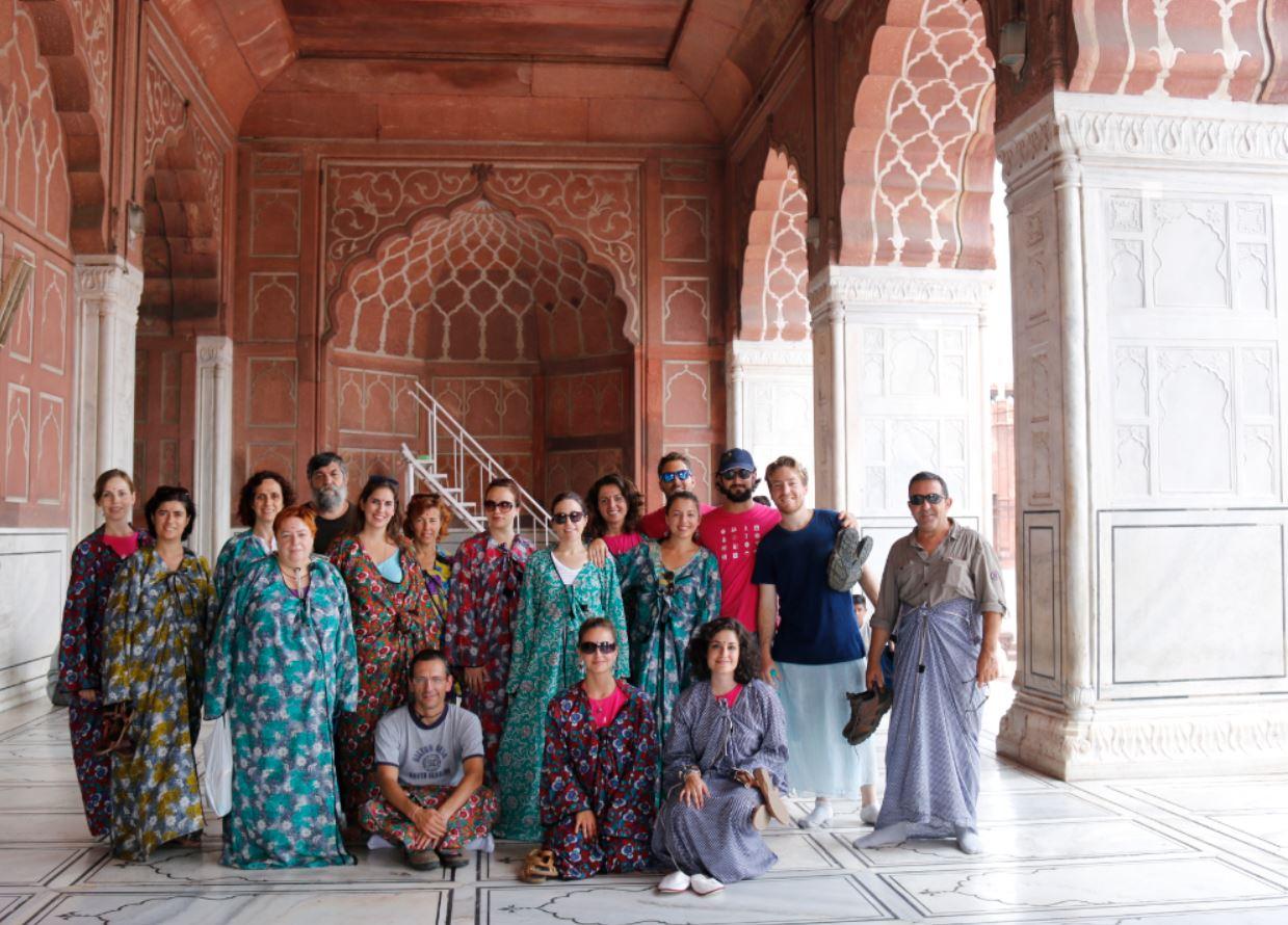 Gran Mezquita en Delhi