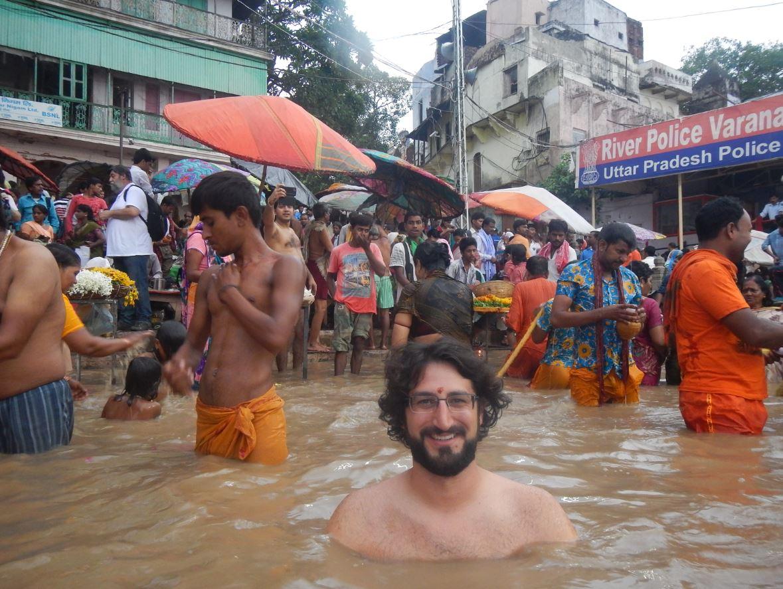 JP en el Ganges